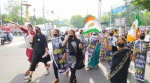 कांग्रेस को प्रधानमंत्री और मुख्यमंत्री के खिलाफ प्रदर्शन करना पड़ा भारी, FIR दर्ज