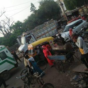 Morena News : बदहाल ट्रैफिक व्यवस्था पर जिम्मेदारों ने झाड़ा पल्ला, कही ये बात