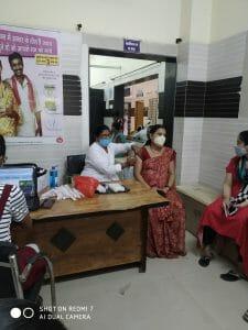 Balaghat: वैक्सीन को लेकर गर्भवती महिलाओं में दिखा उत्साह, 672 महिलाओं को लगा कोवैक्सिन का पहला डोज