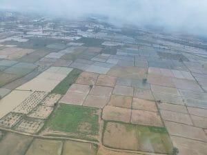 मुख्यमंत्री शिवराज सिंह ने किया बाढ़ग्रस्त क्षेत्रों का हवाई दौरा, कहा नुकसान की भरपाई सरकार करेगी