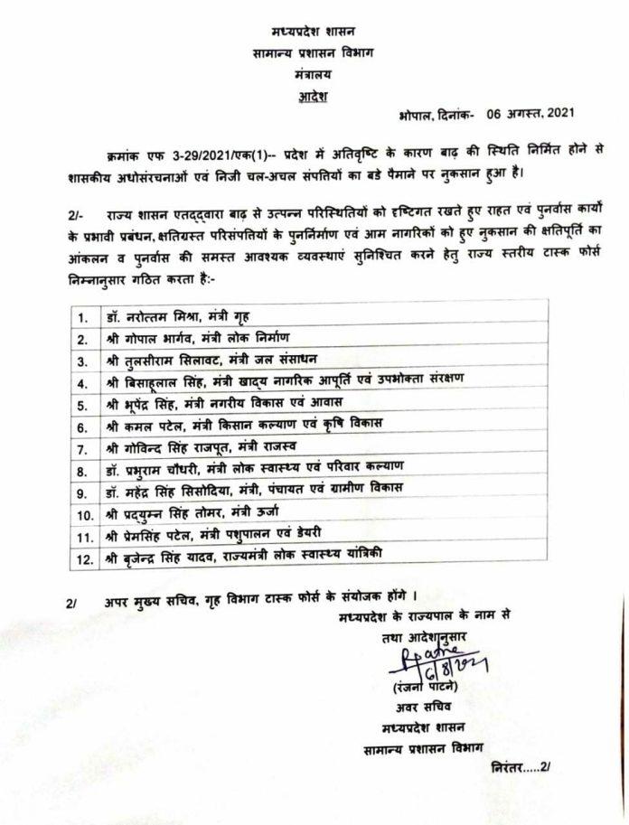 MP Flood: सीएम शिवराज सिंह चौहान ने इन 12 मंत्रियों को सौंपी बड़ी जिम्मेदारी