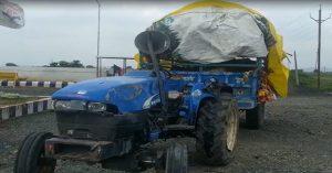 Raisen Accident : अनियंत्रित होकर पलटी कांवड़ियो से भरी ट्रैक्टर ट्रॉली, दो की मौत, 6 से ज्यादा से घायल