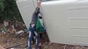 Vidisha Road Accident: तेज रफ्तार कार अनियंत्रित होकर पलटी, तीन की मौत, 2 घायल