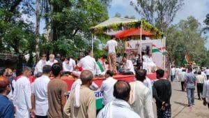 Betul : 104 साल के स्वतंत्रता संग्राम सेनानी विरदी चंद गोठी का निधन, राजकीय सम्मान के साथ हुआ अंतिम संस्कार