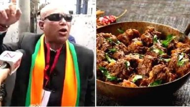 BJP मंत्री का विवादित बयान- चिकन-मटन से ज्यादा खाएं बीफ, कानून से ना डरे