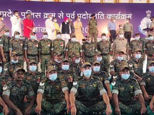 बालाघाट और मंडला जिले के 51 पुलिस जवानों को मिला आउट ऑफ टर्न प्रमोशन