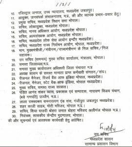 MP News: शिवराज सरकार का बड़ा फैसला, सामान्य प्रशासन विभाग ने जारी किया आदेश