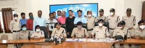 Jabalpur news: शातिर चोरों का खुलासा, चोरी के लिये ड्रोन कैमरे से रखना चाह रहे थे पुलिस पर नज़र, 5 गिरफ्तार