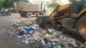 Gwalior News : सख्ती का असर, कर्मचारी निकले काम पर, उठने लगे कचरे के ढेर