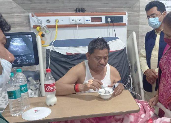 मंत्री प्रेम सिंह पटेल की अचानक तबियत बिगड़ी, एयर एंबुलेंस से भोपाल शिफ्ट करने की तैयारी