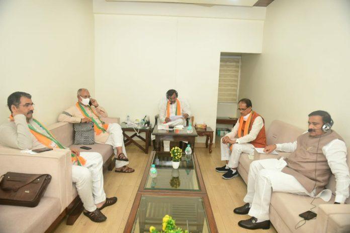 BJP Meeting: CM Shivraj ने ली मंत्री और विधायकों की बैठक, दिए यह महत्वपूर्ण निर्देश