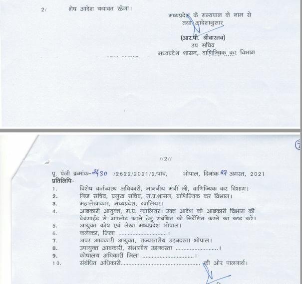 Transfer : मध्य प्रदेश में फिर हुए अधिकारियों के तबादले, यहां देखें लिस्ट