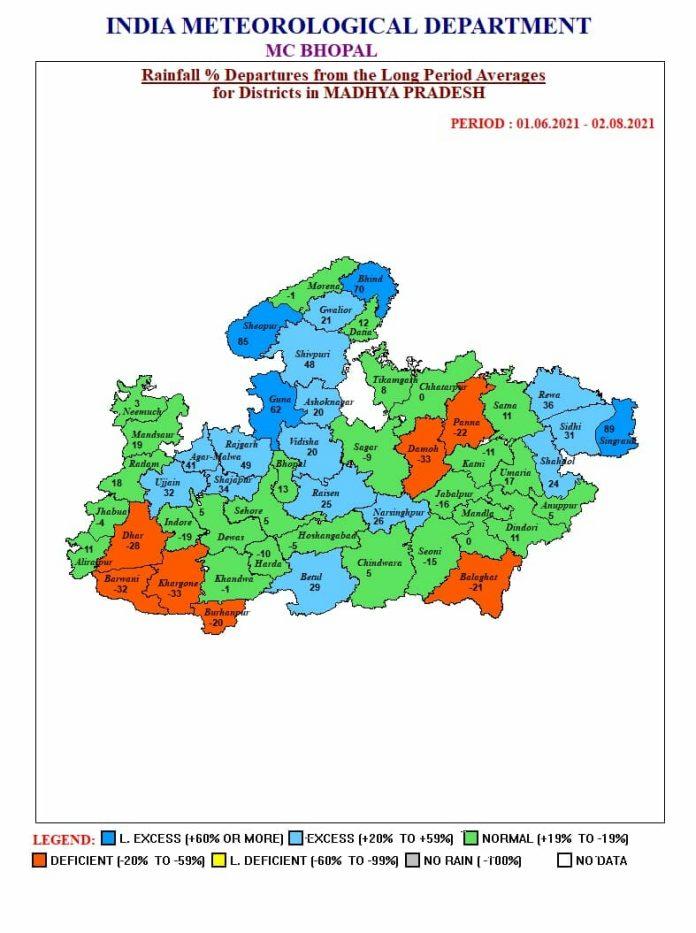 MP Weather Aler: मप्र के इन जिलों में भारी बारिश की चेतावनी, जानें अपने शहर का हाल
