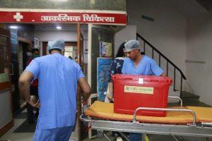 इंदौर में बना 41वां ग्रीन कारिडोर, तीन दिन में दूसरी बार अंगदान, बचेंगी तीन जिंदगियां