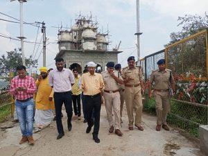 Datia News : रतनगढ़ मंदिर पर लगने वाले मेले को लेकर कलेक्टर व एसपी ने ली बैठक