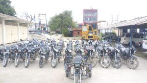 मुरैना पुलिस ने पांच अंतराज्यीय वाहन चोरों को किया गिरफ्तार, 36 मोटरसाइकिलें बरामद