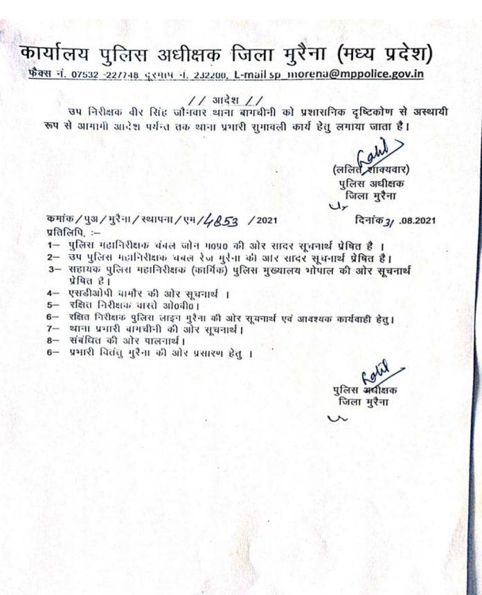 Transfer: कई पुलिसकर्मी इधर से उधर, SP ने जारी किया आदेश, यहां देखें लिस्ट