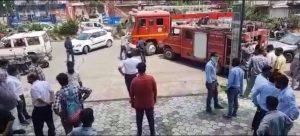 Jabalpur news : बाइक शो रूम में लगी भीषण आग, नई गाड़ियां और पार्टस समेत लाखों का नुकसान