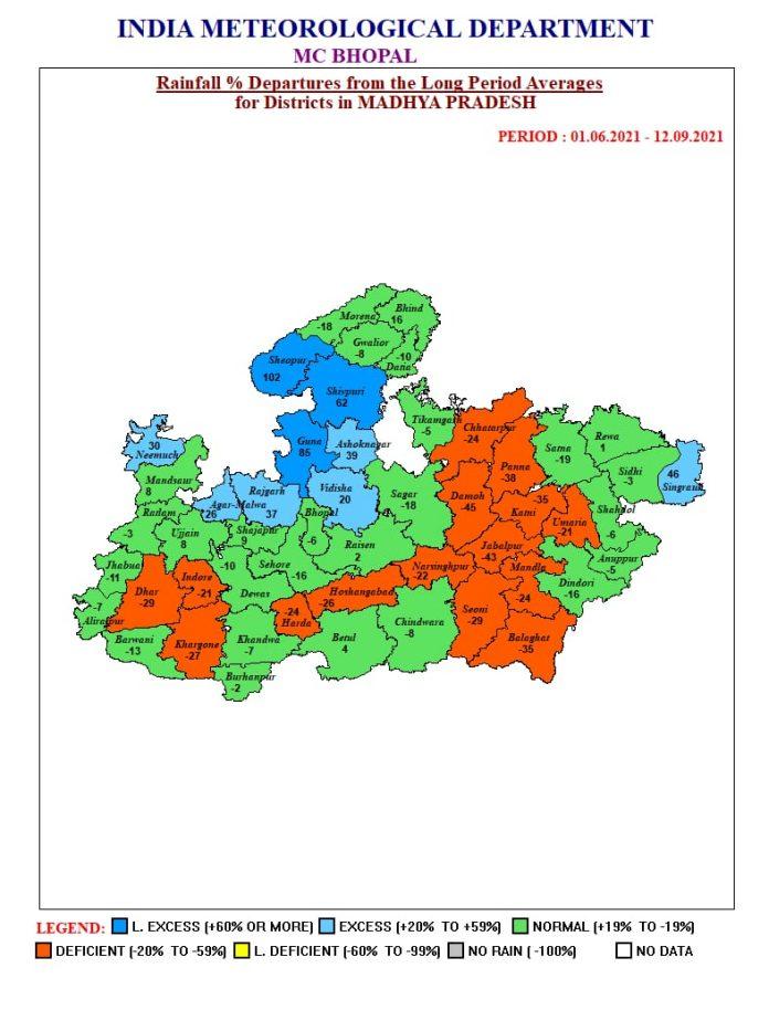 MP Weather : 4 सिस्टम एक्टिव, मप्र के इन जिलों में आज भारी बारिश का अलर्ट
