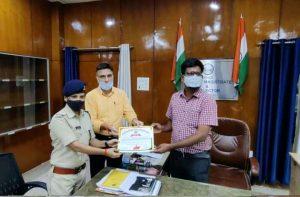Bhind news: कलेक्टर ने बाढ़ रेस्क्यू टीम को किया सम्मानित, दी जांबाज़ी की मिसाल