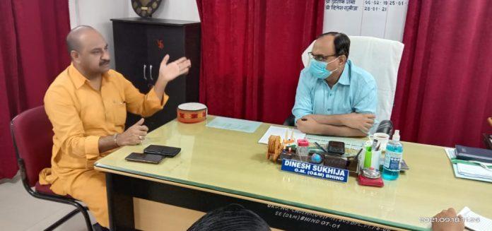 विद्युत व्यवस्था में लापरवाही कतई बर्दाश्त नहीं -डॉ रमेश दुबे