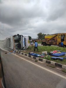ujjian road accident