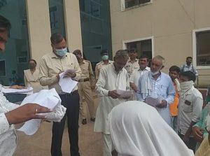 Gwalior News : किसानों ने किया कलेक्ट्रेट का घेराव, प्रधानमंत्री से की ये मांग