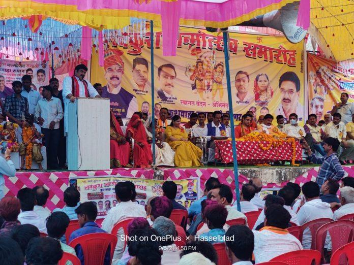 उत्सव में शामिल हुए मंत्री गोविंद सिंह राजपूत, कुशवाहा समाज को मिली बड़ी सौगात