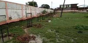 फोटो के लिये भाजपा कार्यकर्ताओं का दिखावा, पौधारोपण के बाद निकाले ट्री गार्ड, जानवरों ने कर दिये नष्ट