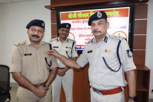 Gwalior News : एसपी को मिला डीजी - सीआर अवार्ड, IG ने किया सम्मानित